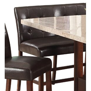 Marlin Counter Height Love Upholstered Dining Chair (Set of 2)