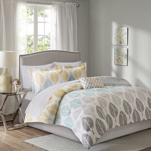 Kopf Complete Comforter and Cotton Sheet Set by Bungalow Rose
