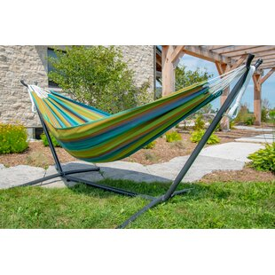 Review Tessa Double Hammock With Stand