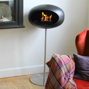 Ground Steel Bio-Ethanol Fireplace by Le Feu