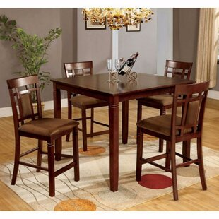 Beese 5 Piece Counter Height Dining Table Set