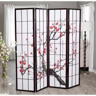 Trudy 4 Panel Room Divider by World Menagerie