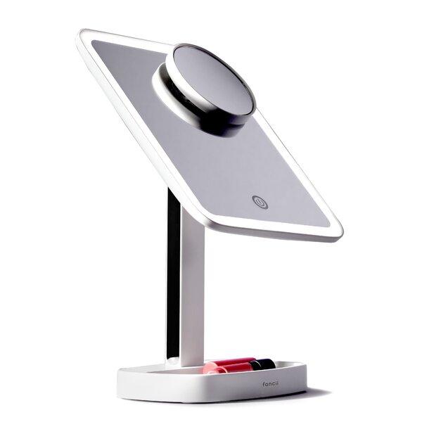 Fancii Modern Lighted Magnifying Makeup Mirror Reviews Wayfair