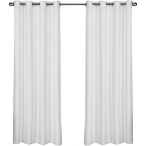 Molly Solid Room Darkening Thermal Grommet Curtain Panels (Set of 2)