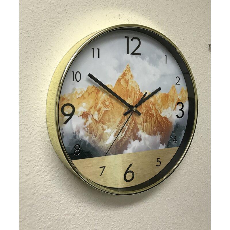 Everly Quinn Tarbox 11 75 Wall Clock Wayfair