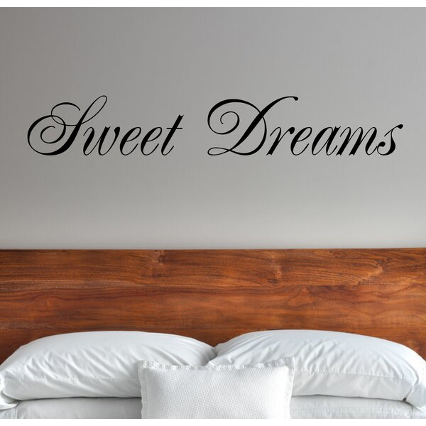Large wall decor Nursery Decor Home Decor Sweet Dreams Sweet Dreams Cloud and Falling Stars Vinyl DecalSticker