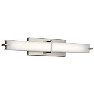 Ebern Designs Carman Linear 1 Light LED Bath Bar