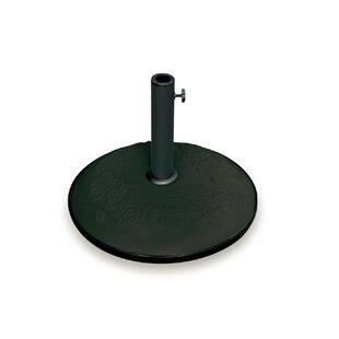 Review Darlene Cement Cast Iron Free Standing Umbrella Base