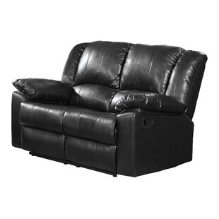 Shayna Leather Reclining Loveseat