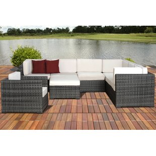 Caroline 8 Piece Sectional Set with Cushions By Breakwater Bay