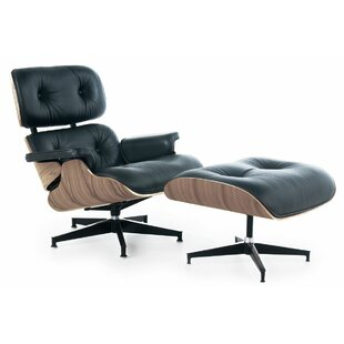 Brayden Studio Toucha Swivel Lounge Chair
