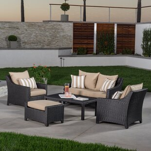 Northridge 5 Piece Sunbrella Sofa Set with Cushions