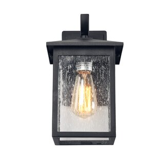 Charlton Home Severns Exterior Outdoor Wall Lantern
