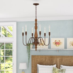 Bay Isle Home Stoughton 6-Light Chandelier