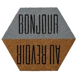 Truman Bonjour/Au Revoir Doormat