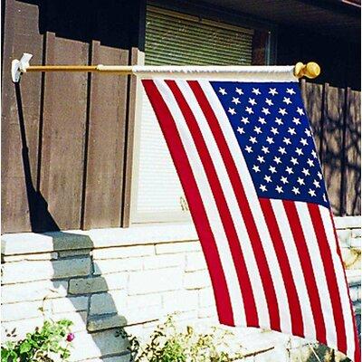 U.S. Flag Store American Printed Cotton 2'6 x 4 ft. Flag