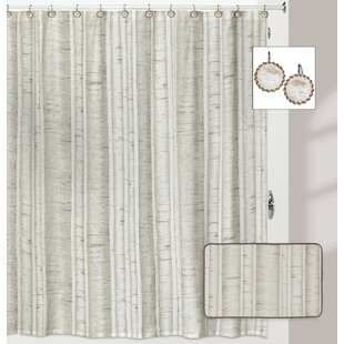 Micaela Birch Shower Curtain
