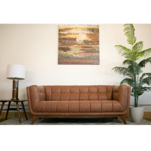 Shop Lupe Vintage Leather Sofa by Corrigan Studio