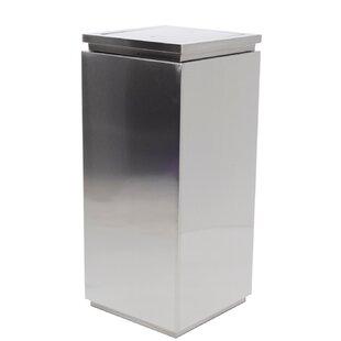 21 Gallon Swing Top Curbside Trash & Recycling Bin By Cosmopolitan Furniture