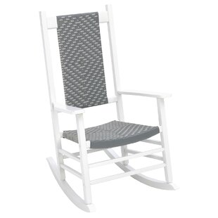 Aren Woven Rocking Chair
