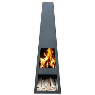 Rizzi Steel Chiminea By Sol 72 Outdoor