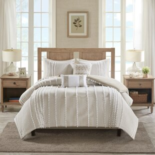 Anslee Cotton 3 Piece Duvet Cover Set