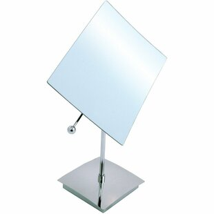 Price Check Cragin Square Makeup/Shaving Mirror By Ebern Designs