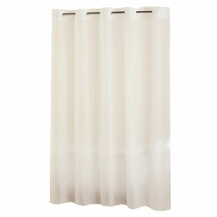 Frosty Vinyl Single Shower Curtain
