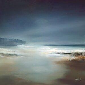 'Indigo Horizon I' Painting Print