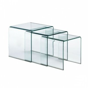Elle 3 Piece Nesting Tables by Orren Ellis