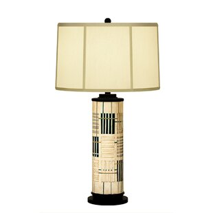 Holmes Abstract Column Table Lamp