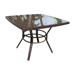 Rum Cay Glass Dining Table by Panama Jack Outdoor
