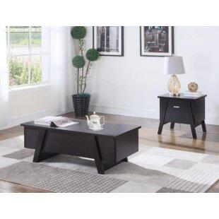 Genibrel 2 Piece Coffee Table Set