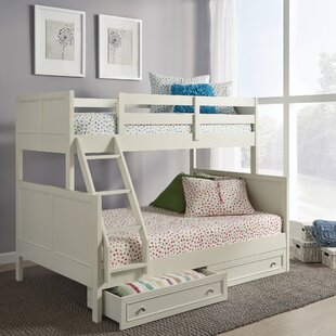 Roxane Twin Bunk Bed With Drawers by Harriet Bee Modern