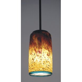Brew Cylinder 1-Light Pendant by World Menagerie
