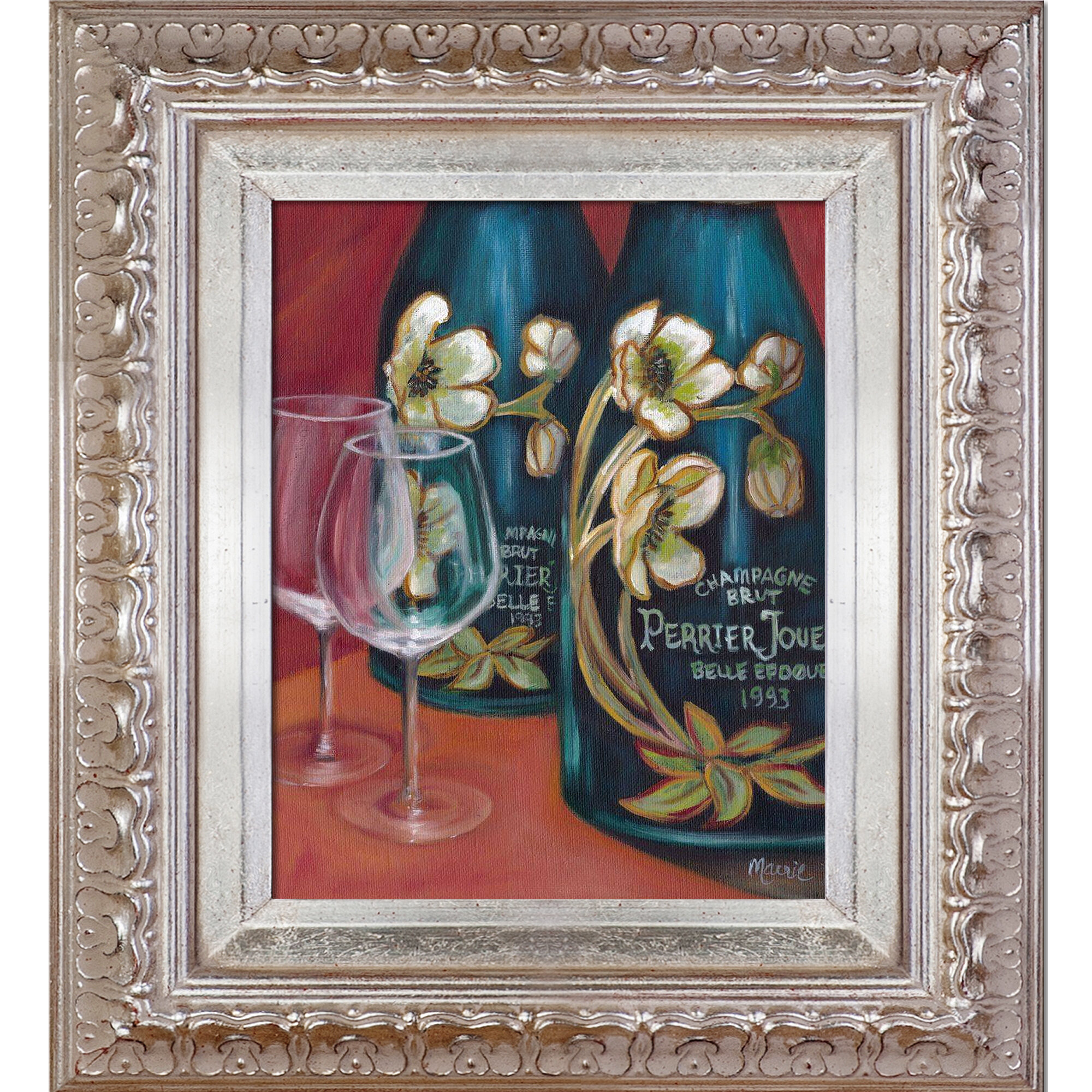Astoria Grand Celebration By Marnie Bourque Picture Frame Painting Print On Canvas Wayfair