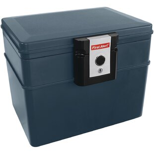 Waterproof/Fireproof File Safe with Key Lock by First Alert