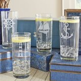 Mccrea 4-Piece 15 oz. Drinking Glass Set (Set of 4)