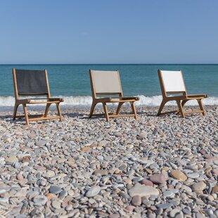 Vargas Cristy Relax Beach Chair by Lynton Garden