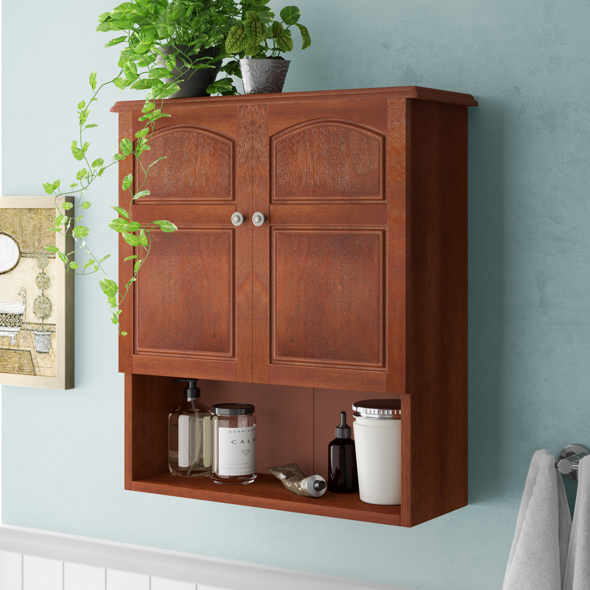 Picture of: Wall Mounted Bathroom Cabinets Wayfair