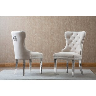 Zephyrine Upholstered Dining Chair (Set Of 2) by Mercer41