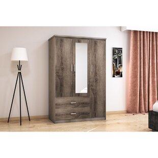 Sagamore 3 Door Wardrobe By Mercury Row