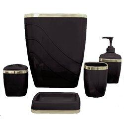 Bathroom Accessories Victoria wayfair basics™ wayfair basics 5 piece bathroom accessory set