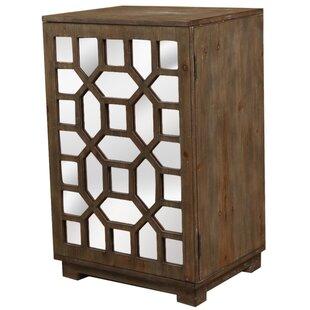 Octagon 1 Door Accent Cabinet by Lamps Per Se