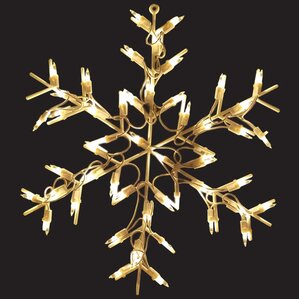 Snow Flake Christmas Lights