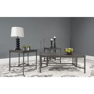 Albro 3 Piece Coffee Table Set