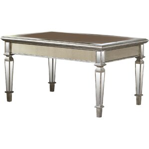Tatiana Mirrored Coffee Table