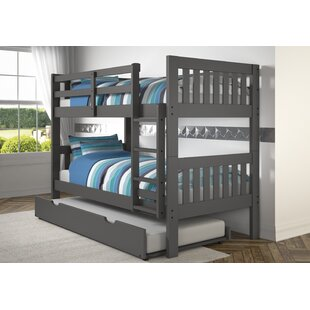 Dubbo Bunk Twin Over Twin Bed by Harriet Bee New