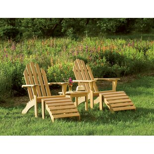 Beachcrest Home Myres Classic 5 Piece Conversation Set