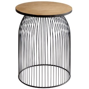 Reviews Bird Cage End Table by Cyan Design